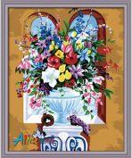 "Картина по номерам ""Летнее разноцветие"" 40х50"