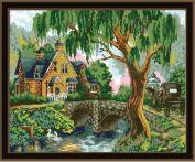 """Картина по номерам """"Старинный дом"""" 40х50"""