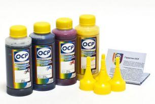 Чернила OCP для принтера HP Officejet 6700, 7510, 7612, 8600, 8610 (BKP280, CP280, MP280, YP280), картриджи HP 932, 933, 950, 951 комплект 100 гр. x 4
