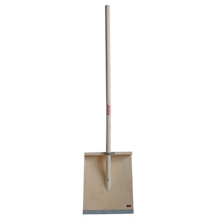 Лопата деревянная для уборки снега ЛСВ (400х450 мм)