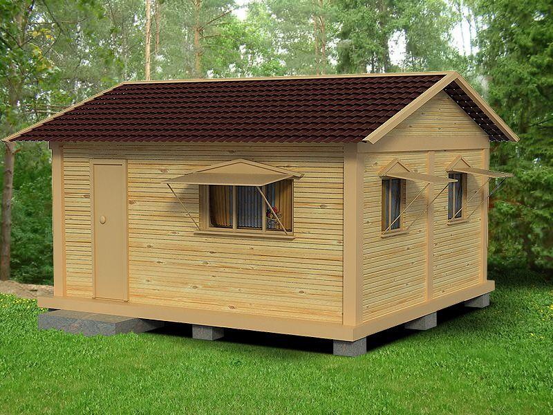 Дачный домик своими руками 3х4