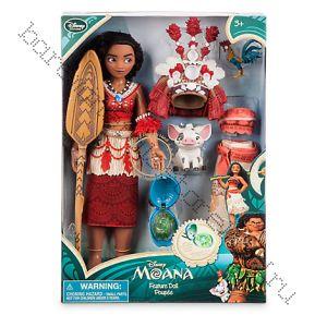 Кукла Моана поющая Дисней + кулон