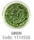 Пудра перламутровая, зеленый