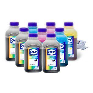 Комплект чернил ОСР (BKP202/203/201/200, CP200,CPL201, YP200, MP200, MPL201) для картриджей EPS R2400, 500 gr x 9