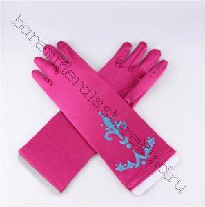 Перчатки Анны Холодное сердце 5-8 лет