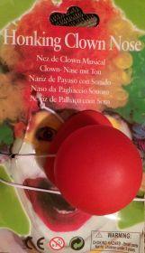 Нос клоунский с пищалкой