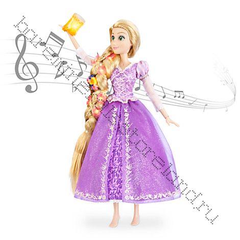 Кукла Рапунцель поющая ЛЮКС 40 см