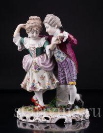 Пара на балу, Дрезден, Германия, кон. 19 в., артикул 02973