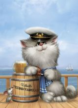 Postcard Sailor