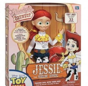 Джесси говорящая де Люкс в коллекционной коробке .