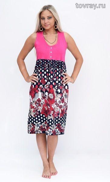 Платье женское Цветочный Рай Efri Си-16 (Sib)
